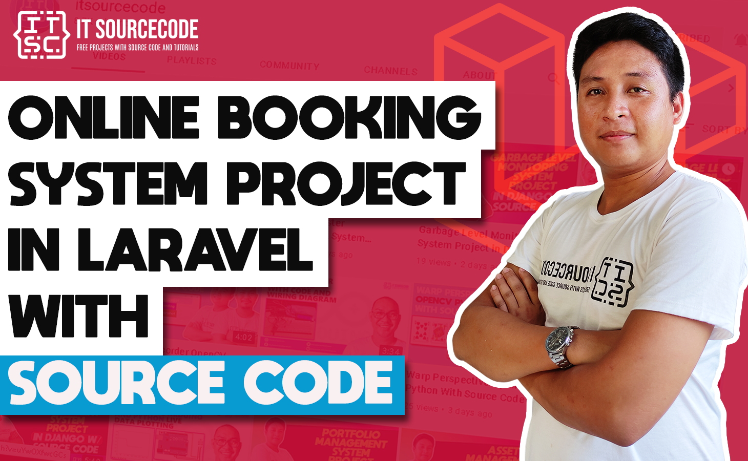Online Booking System Project in Laravel with Source Code