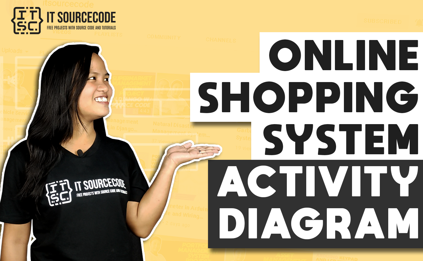 Online Shopping System Activity Diagram