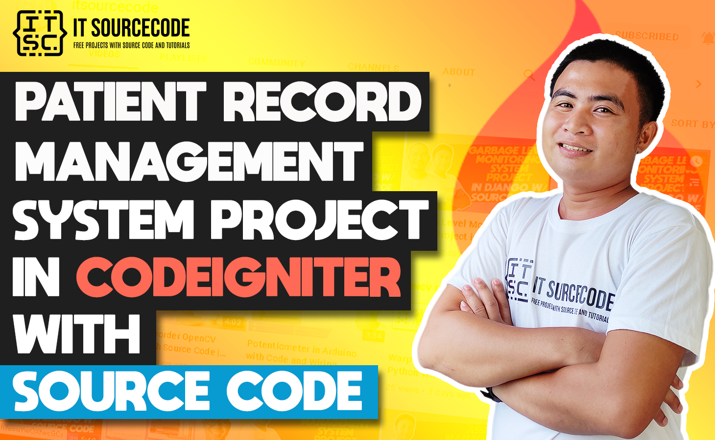 Patient Record Management System In CodeIgniter With Source Code