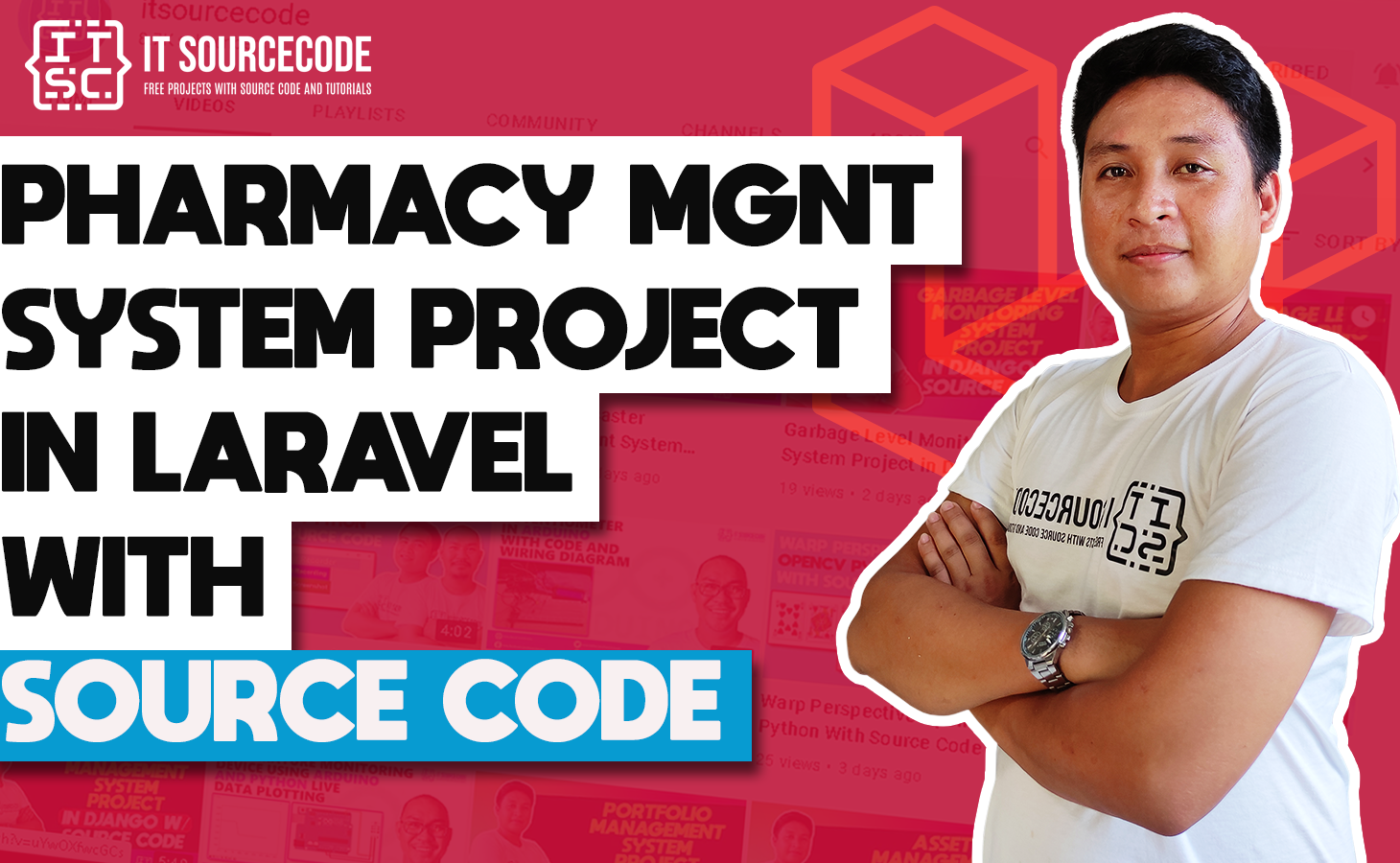 Pharmacy Management System Project in Laravel with Source Code
