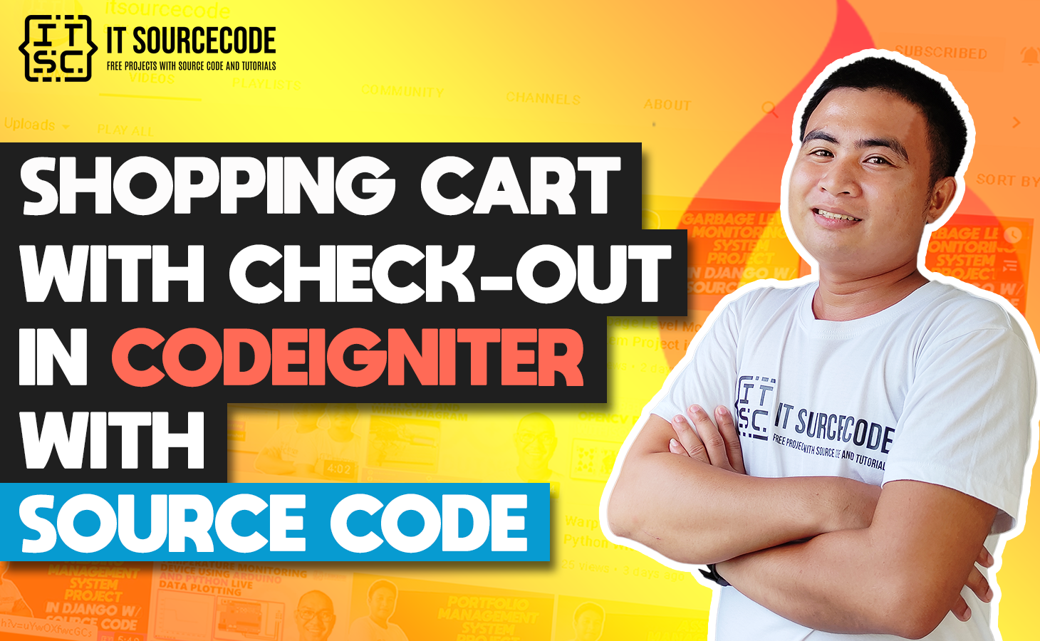Shopping Cart In CodeIgniter With Source Code