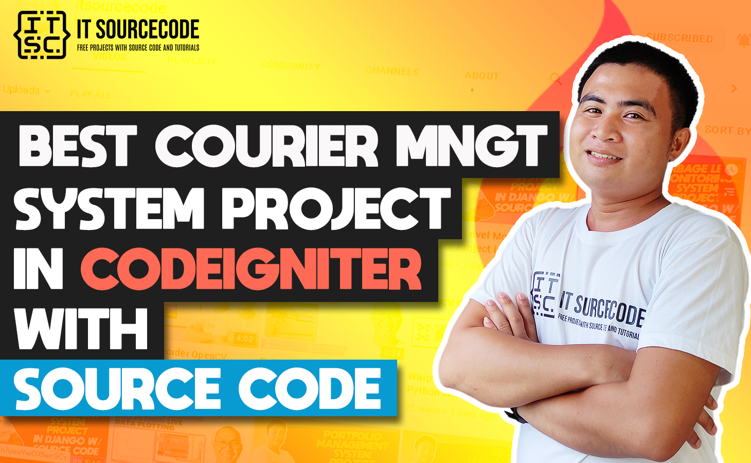 Courier Management System Project In CodeIgniter With Source Code