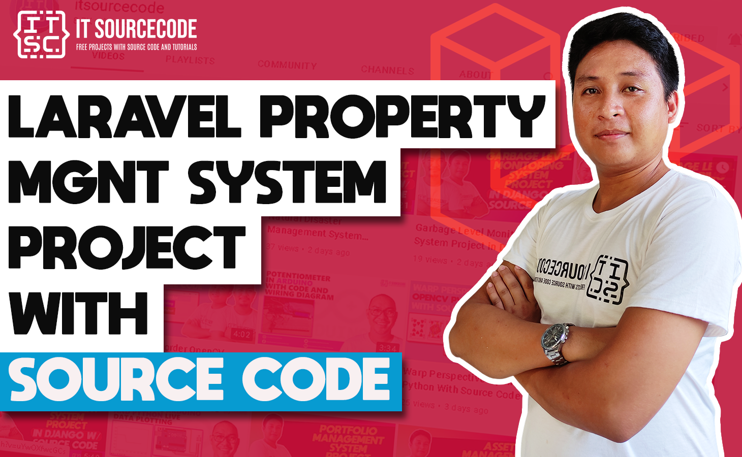 Laravel Property Management System Project with Source Code