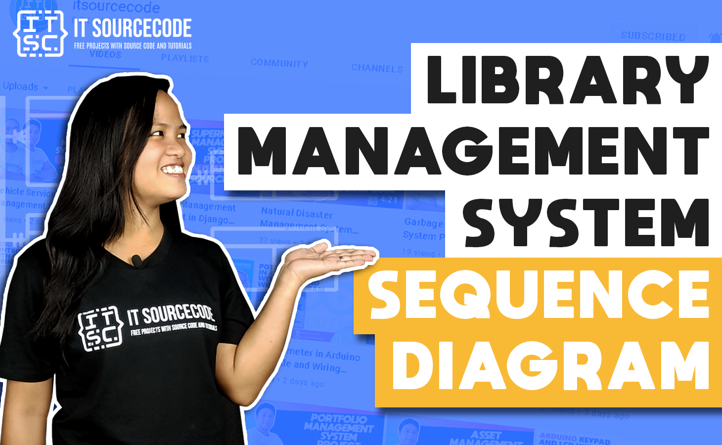 Library Management System Sequence Diagram