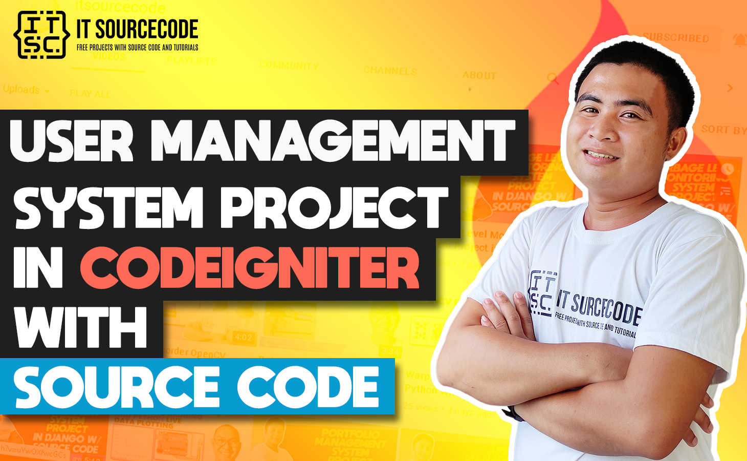 User Management System In Codeigniter With Source Code